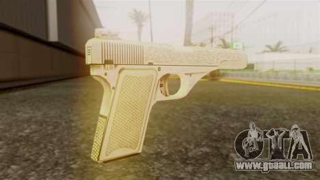 Vintage Pistol GTA 5 for GTA San Andreas second screenshot