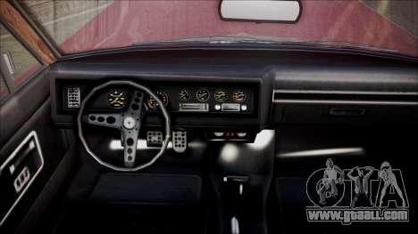 GTA 5 Vapid Chino for GTA San Andreas back left view