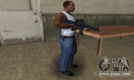 Counter Strike M4 for GTA San Andreas third screenshot