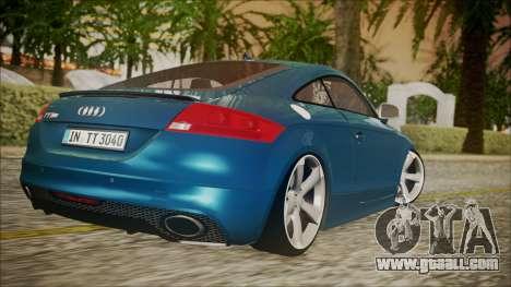 Audi TT RS 2011 v3 for GTA San Andreas left view