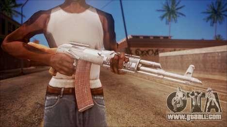 AK-47 v4 from Battlefield Hardline for GTA San Andreas third screenshot