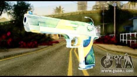 Brasileiro Desert Eagle for GTA San Andreas
