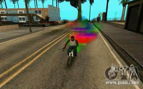Bike Smoke for GTA San Andreas second screenshot