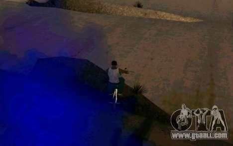 Bike Smoke for GTA San Andreas third screenshot
