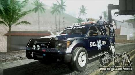 Ford Pickup Policia Federal for GTA San Andreas