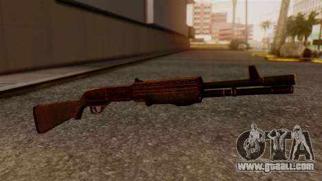 BlueSteel Shotgun for GTA San Andreas