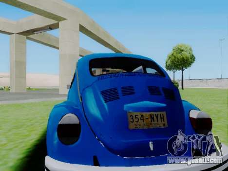 Volkswagen Beetle 1980 Stanced v1 for GTA San Andreas left view