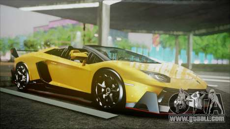Lamborghini Veneno LP700-4 AVSM Roadster Version for GTA San Andreas left view