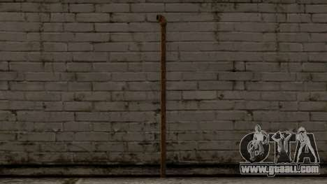Steel Pipe for GTA San Andreas