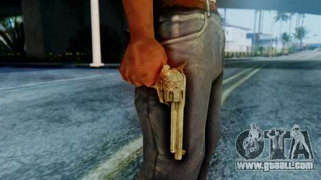 Red Dead Redemption Revolver Cattleman Sergio for GTA San Andreas third screenshot