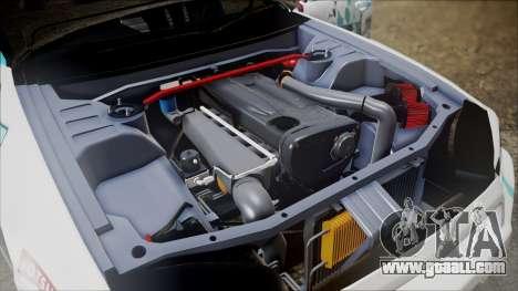 Nissan Skyline ER34 GT-Shop for GTA San Andreas back view