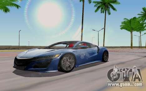 Novel ENB for GTA San Andreas