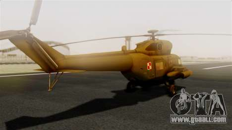 PZL W-3PL Grouse for GTA San Andreas left view