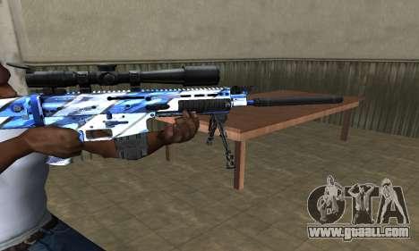 Mount Sniper Rifle for GTA San Andreas second screenshot