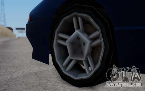 Elegy New SWZ for GTA San Andreas back left view