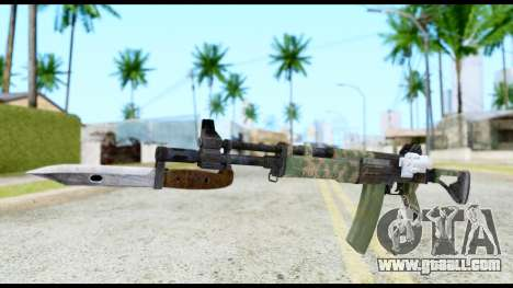 AK-47 from Resident Evil 6 for GTA San Andreas
