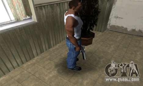 Full Silver Deagle for GTA San Andreas third screenshot