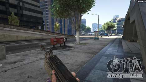 Gears of War Lancer 1.0.0 for GTA 5
