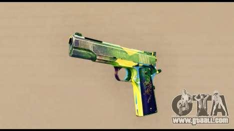Brasileiro Pistol for GTA San Andreas