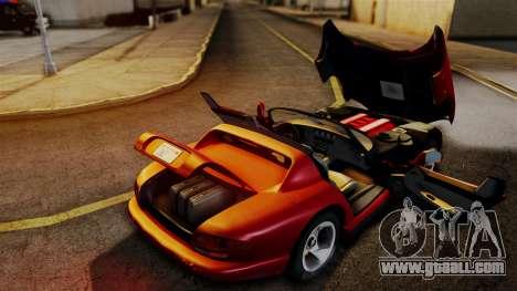 Dodge Viper RT 10 1992 for GTA San Andreas right view