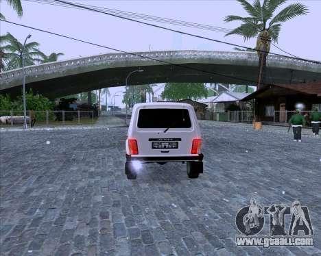 VAZ 2121 Niva 4x4 for GTA San Andreas right view