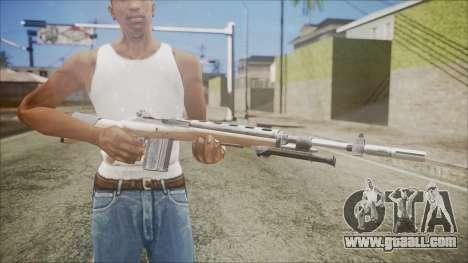 M14 from Black Ops for GTA San Andreas third screenshot