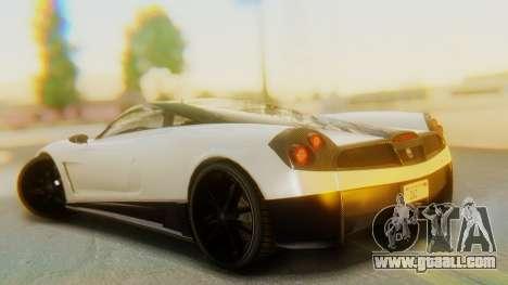 GTA 5 Pegassi Osiris IVF for GTA San Andreas left view