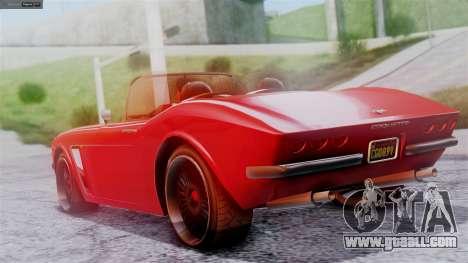 GTA 5 Invetero Coquette BlackFin IVF for GTA San Andreas left view