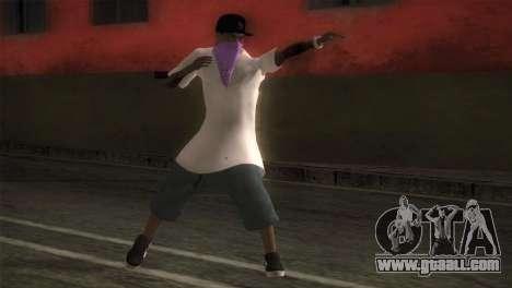 East Side Ballas Member for GTA San Andreas