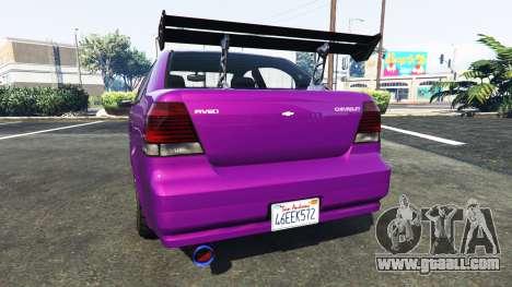 Declasse Asea Chevrolet Aveo for GTA 5