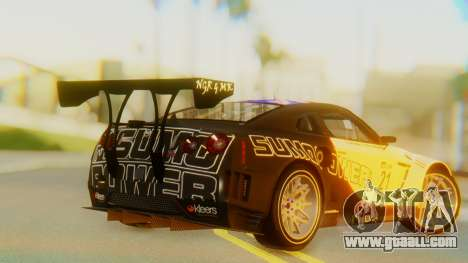 Nissan GT-R GT1 Sumo Tuning for GTA San Andreas left view