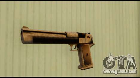 Desert Eagle v0.8 for GTA San Andreas