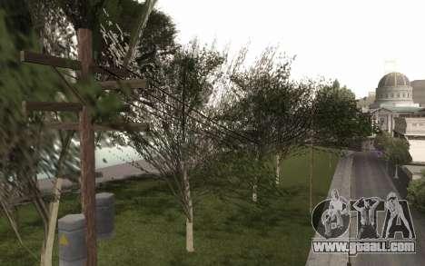 A copy of the original trees for GTA San Andreas