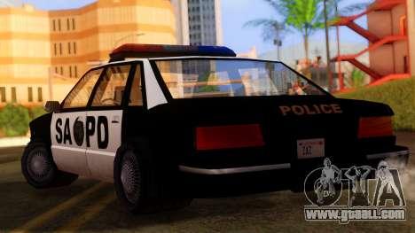 Police SA Premier for GTA San Andreas left view