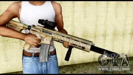HK416 SOPMOD for GTA San Andreas third screenshot