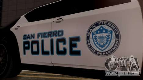 Hunter Citizen from Burnout Paradise Police SF for GTA San Andreas right view