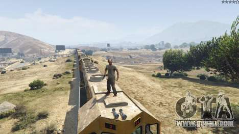 GTA 5 Improved freight train 3.8 tenth screenshot