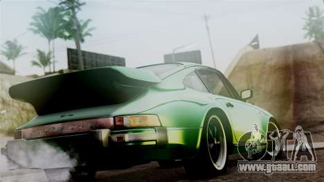 Porsche 911 Turbo (930) 1985 Kit A PJ for GTA San Andreas left view