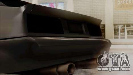Buffalo New Edition for GTA San Andreas right view