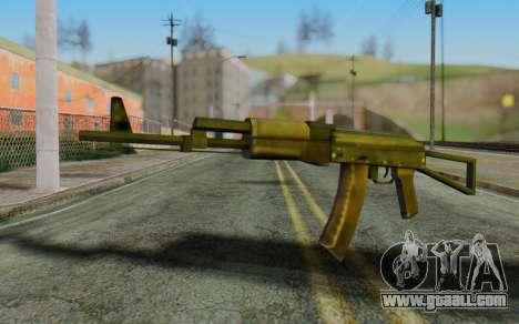 AK-74P for GTA San Andreas