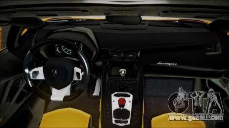 Lamborghini Veneno LP700-4 AVSM Roadster Version for GTA San Andreas back view