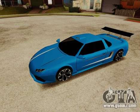 Infernus Lamborghini for GTA San Andreas