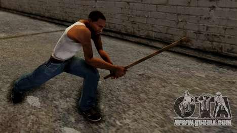 Steel Pipe for GTA San Andreas third screenshot