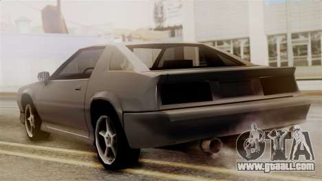 Buffalo New Edition for GTA San Andreas left view