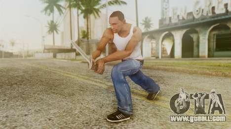 Iron Dagger for GTA San Andreas third screenshot