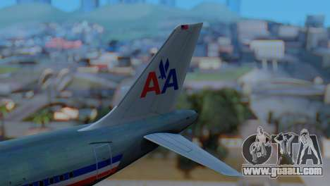 Airbus A320-200 American Airlines (Old Livery) for GTA San Andreas back left view