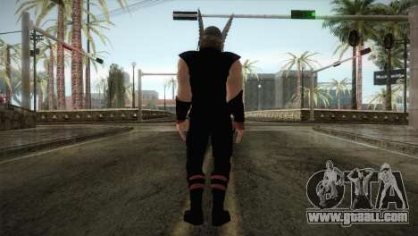 Thor Custom Skin for GTA San Andreas third screenshot