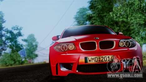 BMW 1M E82 v2 for GTA San Andreas