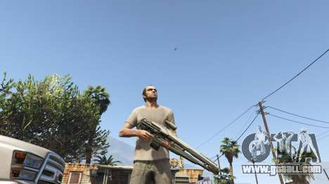 Halo 5 Light Rifle 1.0.0 for GTA 5