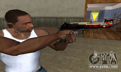 Totenkopf Deagle for GTA San Andreas third screenshot